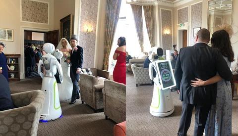 Eva the Robot Photographer Just Shot Her First Wedding