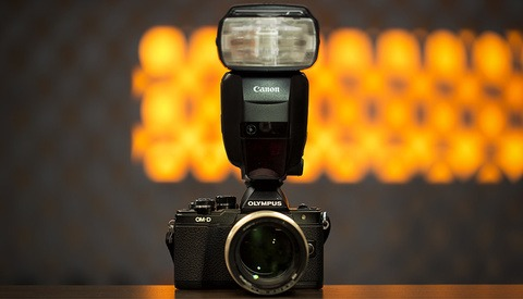 Go Ahead, Use Your Old DSLR Flashes on Your New Mirrorless Cameras