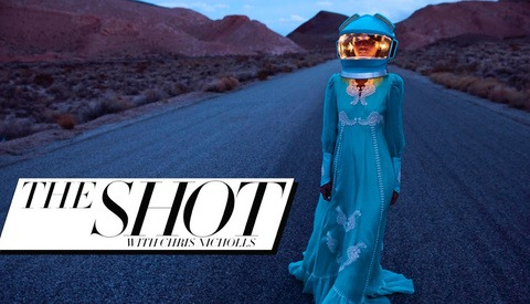 See Behind the Scenes of a Fashion Magazine Cover Shoot With Chris Nicholls