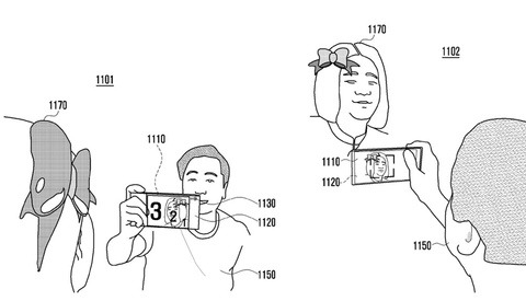 Samsung Patents 'Wraparound Display' for New Phone, Screens on Both Sides