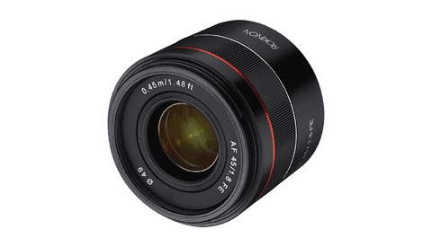 Samyang Announces AF 45mm f/1.8 FE Lens for Sony Full Frame Cameras