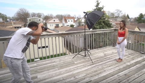 Using a Speedlight for Outdoor Portraits