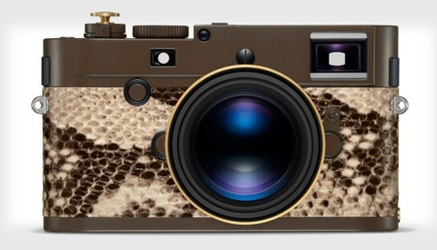 Leica Releases Limited Edition Python Skin Camera With Lenny Kravitz, Retails for $24,000