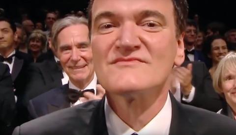 Quentin Tarantino's Standing Ovation Gets Weird