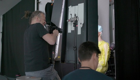 BTS of Martin Schoeller's New York Magazine Covers of RuPaul Stars