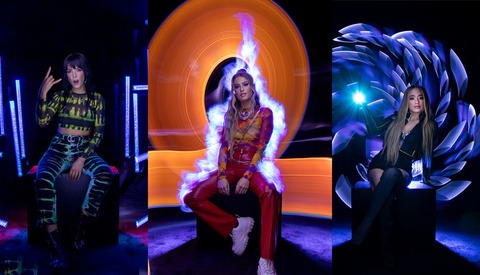 These Celebrity Light-Painting Portraits Were Photographed in a Single Take