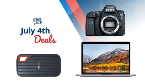 July 4th Limited Time Deals From B&H Photo: Cameras, Computers, and More