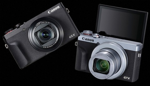 Canon PowerShot G5 X II and G7 X III Compact Cameras Announced