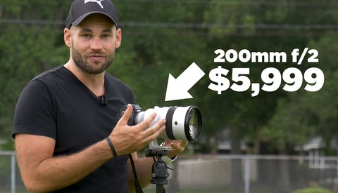 Shooting Portraits With a 200mm f/2 lens and High-Speed Sync