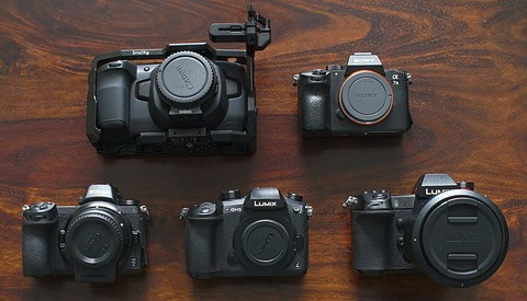 An Epic Showdown Between the Blackmagic Pocket Cinema Camera 4K, Sony a7 III, Panasonic S1, Nikon Z 6, Sony a7S II, and Panasonic GH5