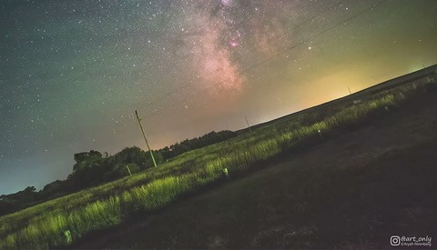 Watch the Earth Rotate Relative to the Milky Way in This Fascinating Time-lapse