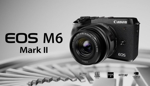 Canon Announces the EOS M6 Mark II