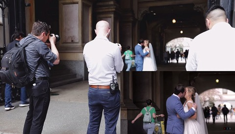 Check Out This Incredible Behind the Scenes Look at Filming a Wedding