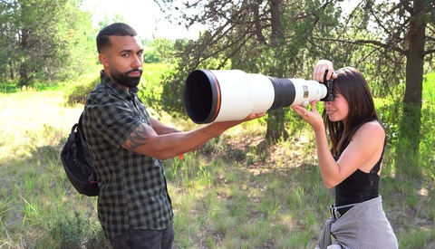 Shooting Portraits at an Insane 900mm