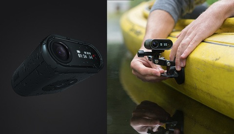 OCLU Action Cam: Delete Unwanted Footage on the Fly