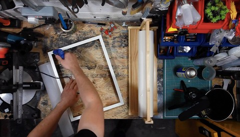 How to Build a Cheap Photographic Scrim