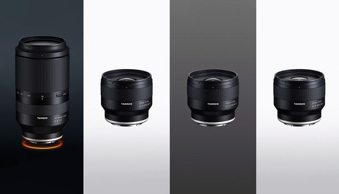 Tamron Expands Their Sony Mirrorless Lens Line-Up with 4 New Lenses