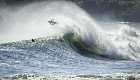 Daredevil Surfers Take on Massive Japan Typhoon with Unbelievable Results