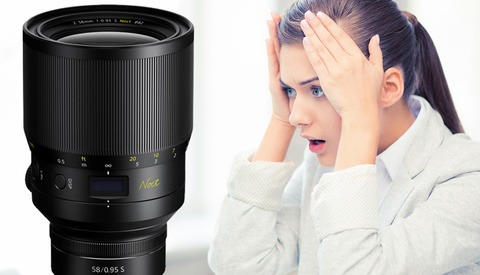 Nikon Says That Demand for its Crazy 58mm f/0.95 Lens Is so High That It Can't Keep Up