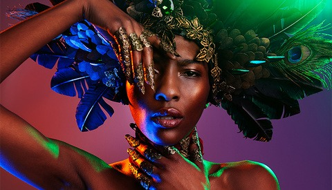 The Bold and Colorful Fashion Photography of Richard Terborg