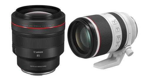 Canon Announces the RF 85mm f/1.2L USM DS and RF 70-200mm f/2.8L IS USM Lenses