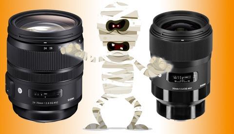Huge Halloween Savings on Sigma Lenses at B&H Photo