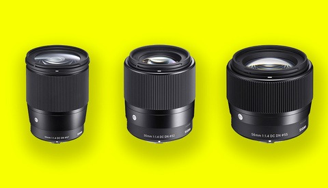 Sigma Announces Three New Prime Lenses for Canon EF-M Mount Cameras