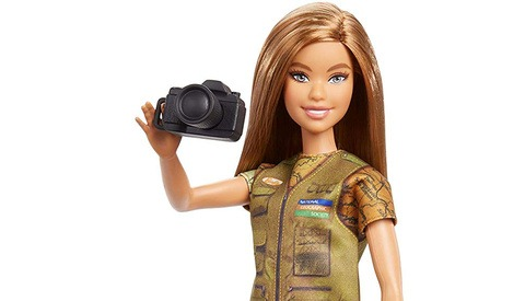 Mattel Introduces Photojournalist Barbie Doll in Collaboration With National Geographic