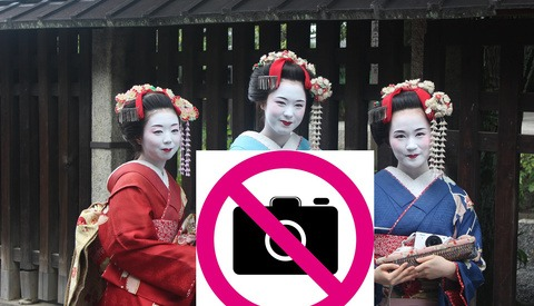 Tourists Strike Again as Photography Banned in Kyoto, Japan