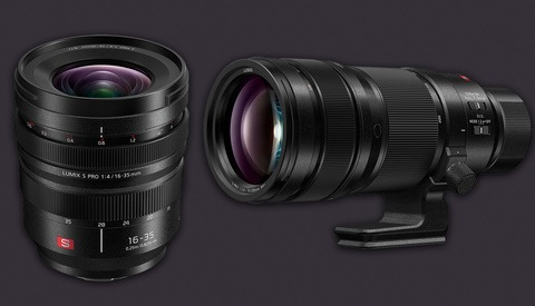 Panasonic Lumix S PRO 16-35mm f/4 and 70-200mm f/2.8 O.I.S. L-Mount Lenses Announced