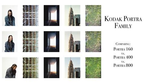 Sibling Rivalry: A Comparison of Kodak's Portra 160, 400, and 800