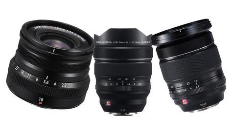 Comparing the Three Fujifilm 16mm f/2.8 lenses