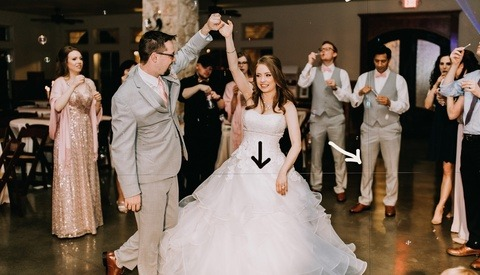 Photographer Forced to Spend Hours Photoshopping Lines From Wedding Photos, Issues Warning That Lasers Can Ruin Sensors