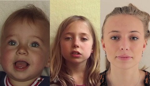 Artist Captures Video Portrait of Daughter Once a Week for 20 Years