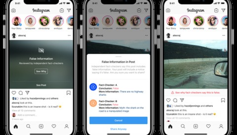 Instagram to Issue Warnings in Crackdown Against 'False Information' and Photoshopped Images