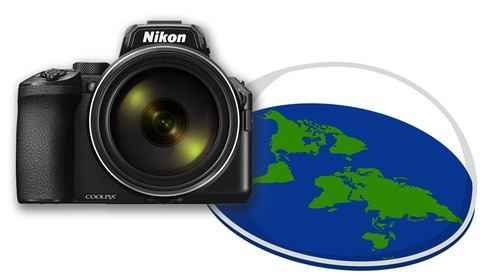 Nikon Launches the COOLPIX P950: A Compact, Zoomy Camera to Make Flat Earthers Go Crazy