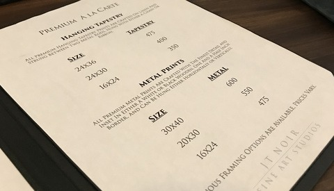 The Importance of the Investment Menu for 'In-Person Sales'