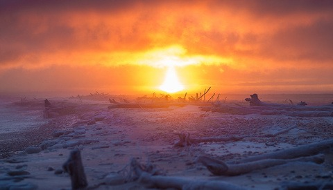 Year of the Sunrise: Michigan Photographer Captures Every Sunrise of 2019