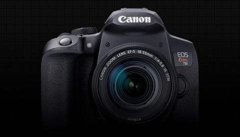 It Ain't Over 'Til It's Over: Canon Announces the EOS Rebel T8i