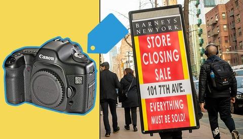 Carnage: Barneys Overpriced Liquidation Auction