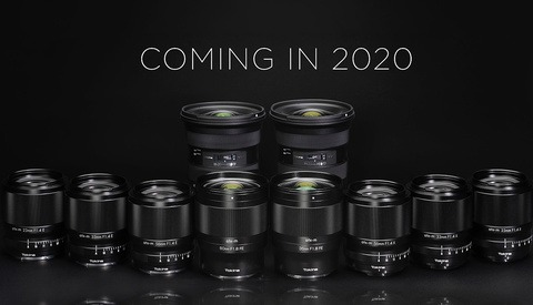 Tokina Unveils Expansive Lens Road Map, All to Be Released in 2020