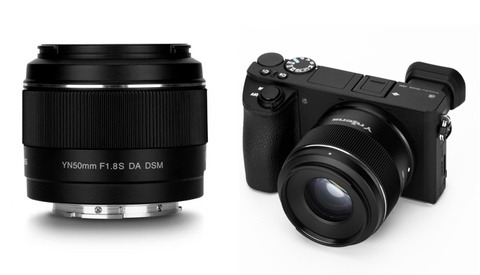 Yongnuo Is About to Launch a 50mm f/1.8 for Sony APS-C Cameras