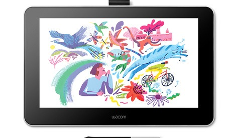 Mobile Pixel-Pushing With the Wacom One
