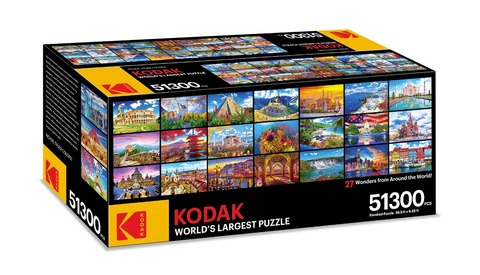 Kodak Just Announced a 50,000-Piece Jigsaw Puzzle That's as Long as a Bus