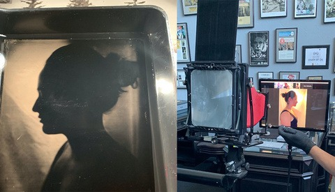 Here's How a Photographer Took a Wet Plate Portrait Over a Live Video Chat