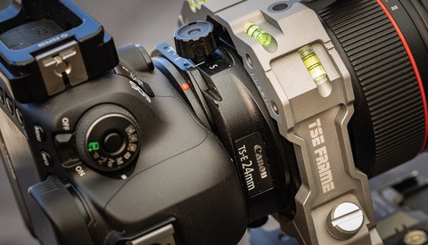 Using the Rogeti TS-E Frame for Panoramas With a Tilt-Shift Lens