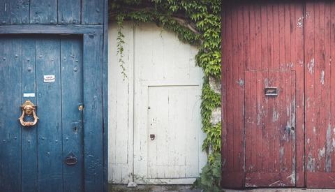 How My Neighbors' Doors Are Keeping Me Creative During Lockdown