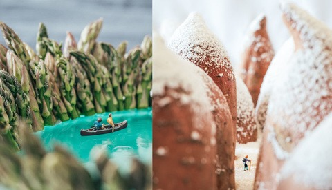 Travel Photographer Uses Food and Everyday Objects to Create 'Outdoor' Landscape Photos