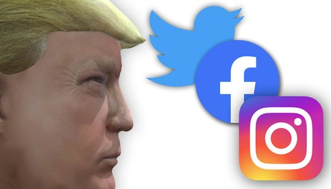 Trump Campaign Video Pulled From Social Media for Photo Copyright Infringement