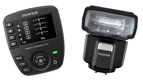 Fujifilm Announces new EF-60 Shoe Mount Flash and EF-W1 Commander
